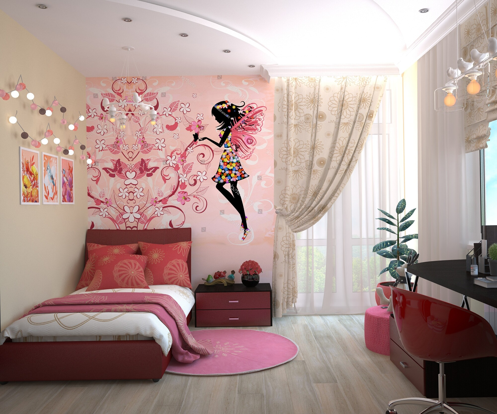 Cool Kids' Bedroom Ideas & Decorating Tips