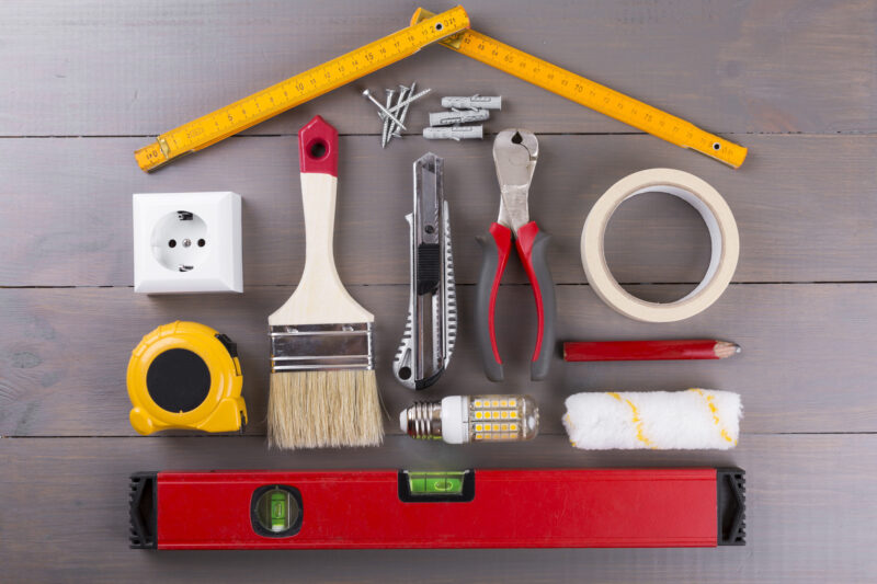 There are many home project ideas that are worth taking on yourself, especially when you're strapped for cash and have an Internet connection. Here are 10!